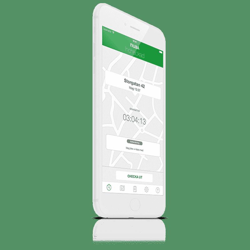 mobil tidrapportering